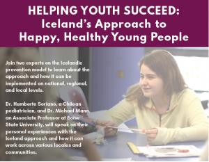 Icelandic Model for youth development @ UVM Alumni House